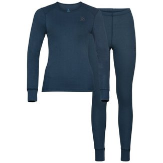 ODLO Set Active Warm blue wing Damen