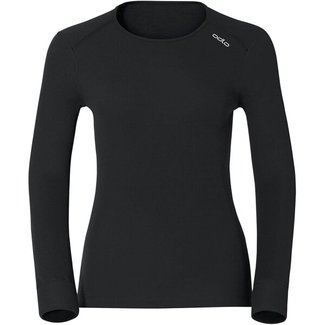 ODLO Shirt L/S Crew Neck Active black Damen