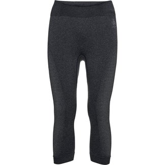 ODLO BL Bottom 3/4 Performan black/new odlo graphite grey Damen